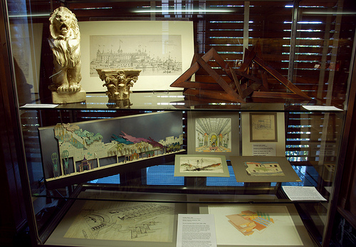 Artifacts from the Alexander Architectural Archive