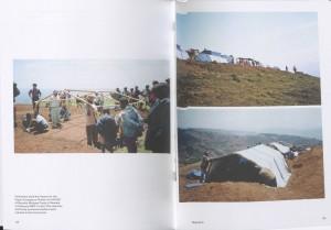 Paper emergency shelters for UNHCR Shigeru Ban. Byumba Refugee camp, Rwanda