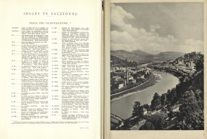 Images de Salzbourg - Table of Contents