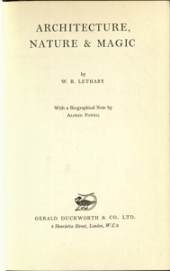 Lethaby - Cover Page
