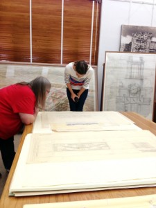 Browsing the Archive with Nancy Sparrow, Curatorial Assistant for Public Services